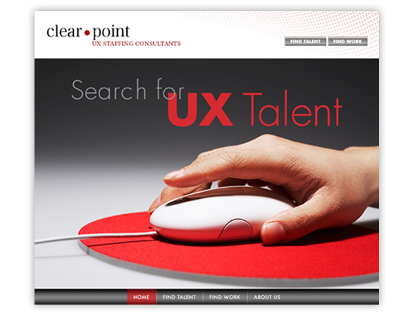 Clear Point - Home Page Design
