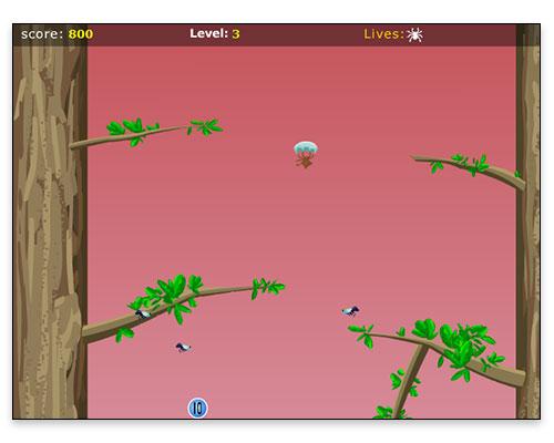 Charlotte's Web Mini Game - Gameplay Screen